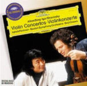 CD Concerti per violino Alban Berg , Maurice Ravel , Igor Stravinsky