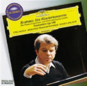 Concerti per pianoforte - CD Audio di Johannes Brahms,Berliner Philharmoniker,Emil Gilels,Eugen Jochum