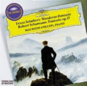 Fantasia Wanderer D760 / Fantasia op.17 - CD Audio di Franz Schubert,Robert Schumann,Maurizio Pollini