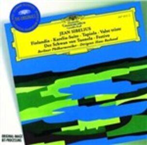 CD Finlandia - Karelia Suite - Tapiola - Valse Triste di Jean Sibelius