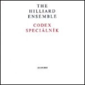 Foto Cover di Codex Speciálník, CD di Hilliard Ensemble, prodotto da ECM Records
