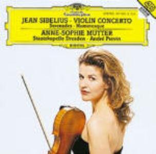 CD Concerto per violino - Serenate - Humoresque di Jean Sibelius