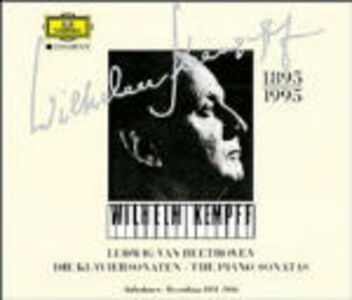 CD Sonate per pianoforte complete 1951-1956 di Ludwig van Beethoven