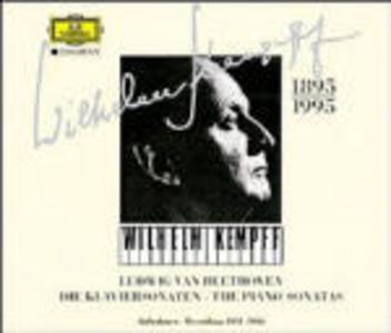 CD Sonate per pianoforte complete 1951-1956 di Ludwig van Beethoven