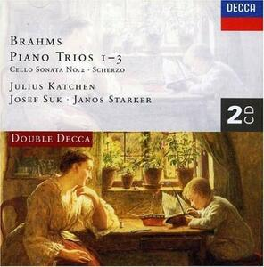 Trii - CD Audio di Johannes Brahms,Josef Suk,Julius Katchen,Janos Starker