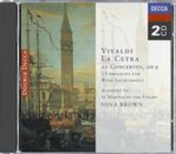 CD La cetra op.9 - Concerti per strumenti a fiato di Antonio Vivaldi
