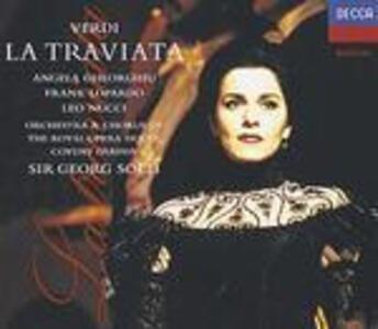 La Traviata - CD Audio di Giuseppe Verdi,Angela Gheorghiu,Leo Nucci,Frank Lopardo,Georg Solti,Covent Garden Orchestra