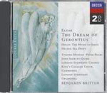 The Dream of Gerontius / The Hymn of Jesus / Sea Drift - CD Audio di Benjamin Britten,Edward Elgar,Gustav Holst
