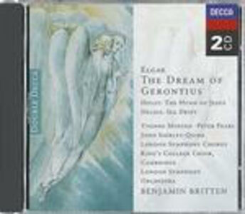 CD The Dream of Gerontius / The Hymn of Jesus / Sea Drift Benjamin Britten , Edward Elgar , Gustav Holst