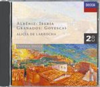 CD Iberia - Navarra / Goyescas Enrique Granados , Isaac Albéniz
