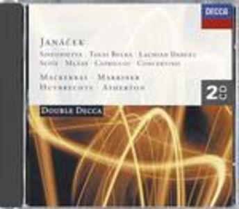 CD Sinfonietta - Taras Bulba - Mladi - Suite - Lachian Dances - Capriccio - Concertino di Leos Janacek
