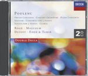 Foto Cover di Concerto per organo - Concerto per pianoforte - Gloria - Sonata per due pianoforti, CD di Francis Poulenc, prodotto da Decca