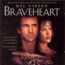 Braveheart (Colonna sonora) - CD Audio di James Horner,London Symphony Orchestra