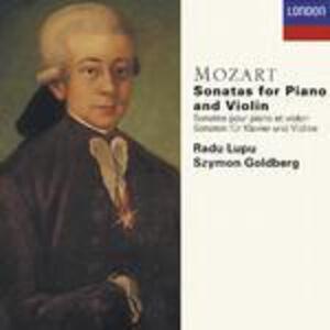 CD Sonate per violino e pianoforte complete di Wolfgang Amadeus Mozart