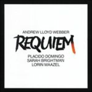 Requiem - CD Audio di Placido Domingo,Sarah Brightman,Andrew Lloyd Webber,Lorin Maazel