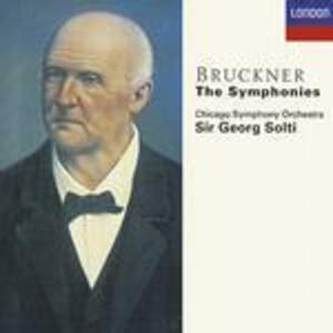 Sinfonie complete - CD Audio di Anton Bruckner,Georg Solti,Chicago Symphony Orchestra