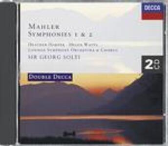 Sinfonie n.1, n.2 - CD Audio di Gustav Mahler,Georg Solti,London Symphony Orchestra
