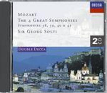 CD Sinfonie n.38, n.39, n.40, n.41 di Wolfgang Amadeus Mozart