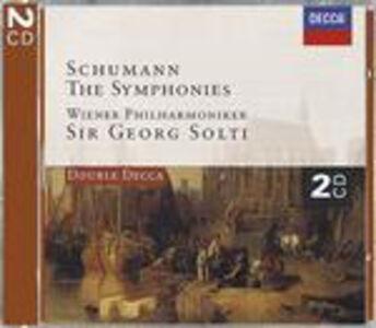 Foto Cover di Sinfonie n.1, n.2, n.3, n.4 - Ouverture scherzo e finale op.52, CD di AA.VV prodotto da Decca