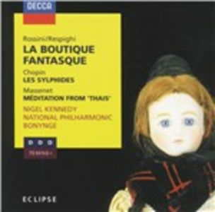 CD La Boutique Fantasque / Les Sylphides / Méditation from Thais Fryderyk Franciszek Chopin , Jules Massenet , Gioachino Rossini