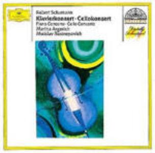 CD Concerto per pianoforte - Concerto per violoncello di Robert Schumann