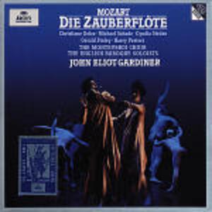 Il flauto magico (Die Zauberflöte) - CD Audio di Wolfgang Amadeus Mozart,John Eliot Gardiner,English Baroque Soloists,Christiane Oelze,Michael Schade,Gerald Finley,Cyndia Sieden