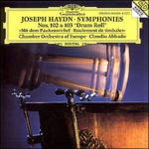 CD Symphonies No. 102 & 103 di Franz Joseph Haydn