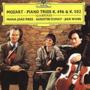 Foto Cover di Trii con pianoforte K496, K502, CD di AA.VV prodotto da Deutsche Grammophon