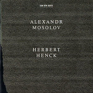 CD Sonate per pianoforte n.2 op.4, n.5 op.1 di Alexander Vasil'yevich Mosolov