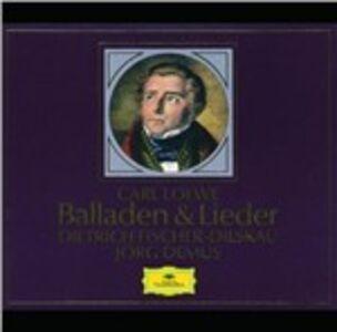 Foto Cover di Ballads & Lieder, CD di Dietrich Fischer-Dieskau,Frederick Loewe, prodotto da Deutsche Grammophon