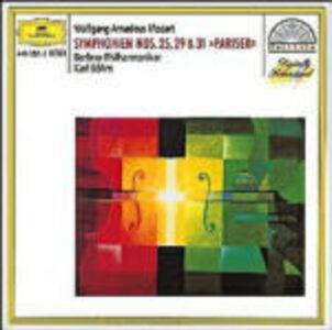 CD Sinfonie n.25, n.29, n.31 di Wolfgang Amadeus Mozart