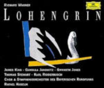 Lohengrin - CD Audio di Richard Wagner,Gundula Janowitz,Gwyneth Jones,James King,Thomas Stewart,Karl Ridderbusch,Rafael Kubelik,Orchestra Sinfonica della Radio Bavarese