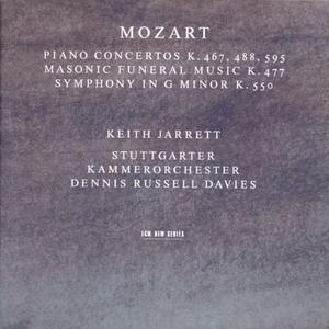 CD Concerti per pianoforte n.21, n.23, n.27 di Wolfgang Amadeus Mozart