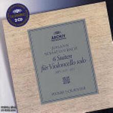 Suites per violoncello - CD Audio di Johann Sebastian Bach,Pierre Fournier