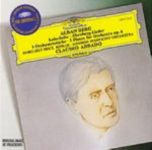 CD Lulu Suite - Altenberg Lieder di Alban Berg