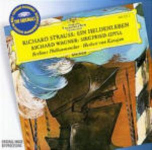 CD Vita d'eroe (Ein Heldenleben) / Idillio di Sigfrido (Siegfried-Idyll) Richard Strauss , Richard Wagner