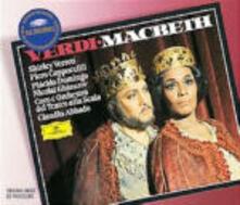 Macbeth - CD Audio di Placido Domingo,Shirley Verrett,Nicolai Ghiaurov,Piero Cappuccilli,Giuseppe Verdi,Claudio Abbado,Orchestra del Teatro alla Scala di Milano