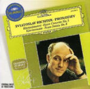 CD Concerto per pianoforte n.5 - Sonata per pianoforte n.8 di Sergei Sergeevic Prokofiev