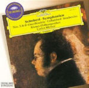 CD Sinfonie n.3, n.8 di Franz Schubert