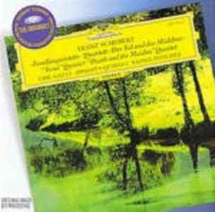 """CD Quintetto con pianoforte """"La trota"""" - Quartetto """"La morte e la fanciulla"""" di Franz Schubert"""