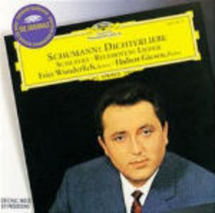 CD Dichterliebe / Lieder Ludwig van Beethoven , Franz Schubert , Robert Schumann