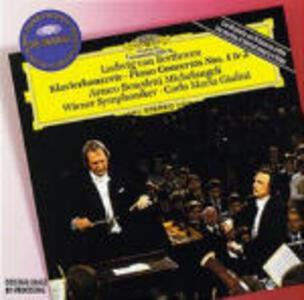 Concerti per pianoforte n.1, n.3 - CD Audio di Ludwig van Beethoven,Carlo Maria Giulini,Arturo Benedetti Michelangeli