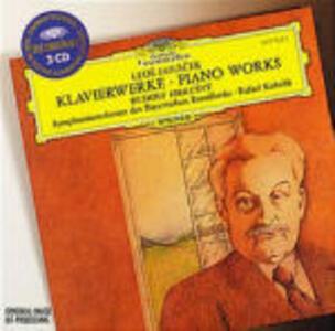 Opere per pianoforte - CD Audio di Leos Janacek,Rafael Kubelik,Orchestra Sinfonica della Radio Bavarese,Rudolf Firkusny