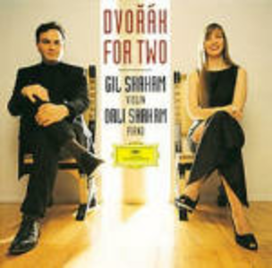 CD Dvorak for two di Antonin Dvorak