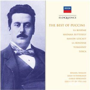 CD Best of Puccini di Giacomo Puccini