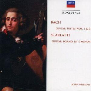 Foto Cover di Suites 1 & 3, CD di Johann Sebastian Bach, prodotto da Eloquence