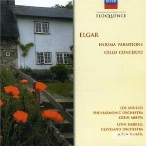 CD Cello Concerto - Enigma Var di Edward Elgar