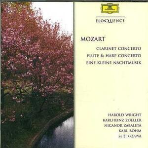 Clarinet, Flute & Harp co - CD Audio di Wolfgang Amadeus Mozart