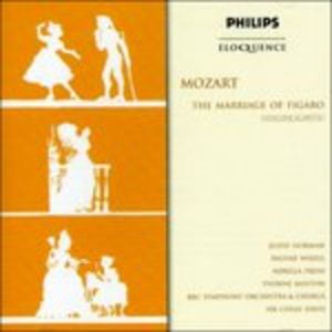 CD Marriage of Figaro - Hl - di Wolfgang Amadeus Mozart