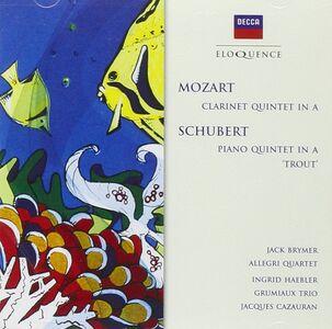 CD Quintetto La trota / Quintetto con clarinetto in La Wolfgang Amadeus Mozart , Franz Schubert